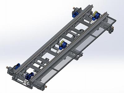 Friction Wheel Transfer Cart